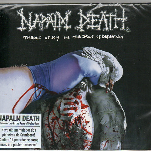Cd Napalm Death Throes Of Joy In The Jaws Of Defeatism Slipc