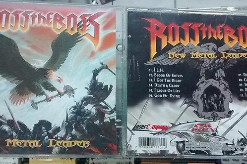 Cd Usado Ross The Boss New Metal Leader
