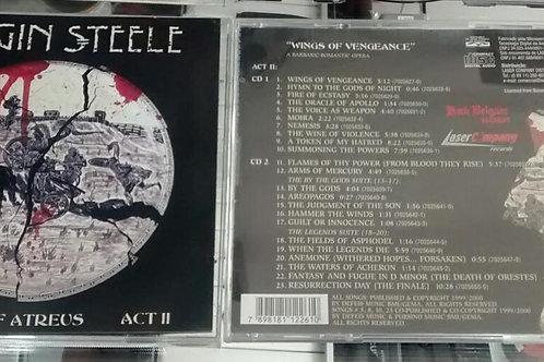 Cd Usado Virgin Steele The House of Atreus Act II