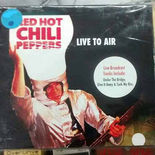 Cd Usado Red Hot Chili Peppers Live to Air