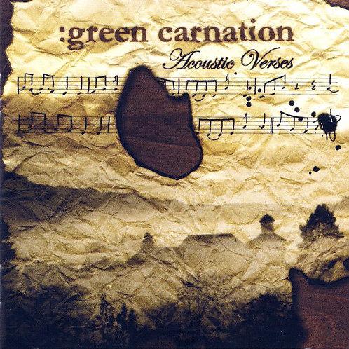 Cd Green Carnation Acoustic Verses