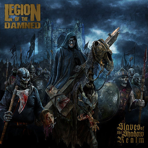 Cd Legion Of The Damned Slaves Of The Shadow Realm Sipcase