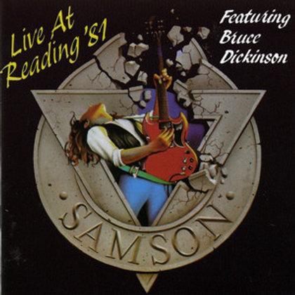 Cd Samson Live At Reading 81 Com Bruce Dickinson