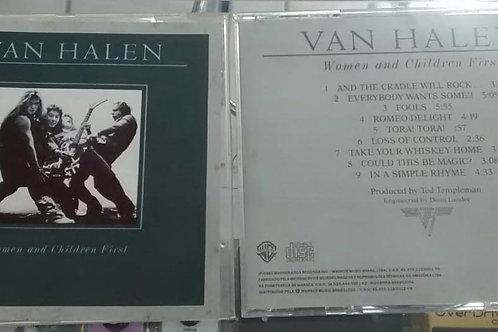Cd Usado Van Halen Women And Children First