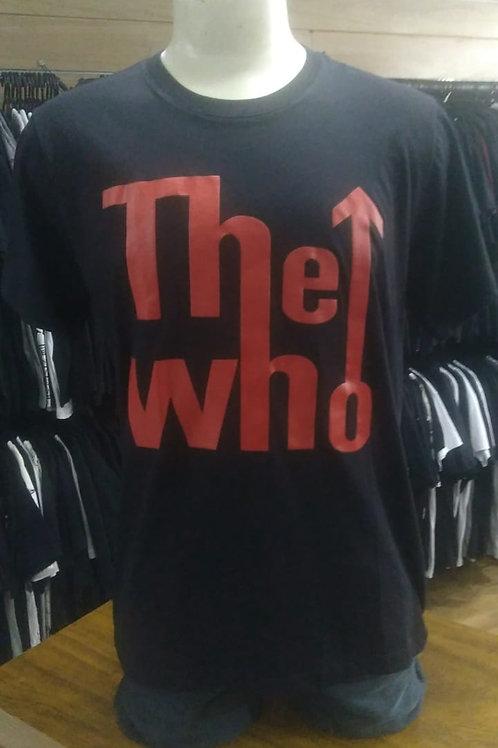 Camiseta The Who Logo Brutal Btwl01