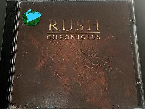 Cd Usado Rush Chronicles Duplo