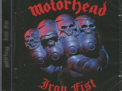 Cd Motorhead Iron Fist Com Bônus
