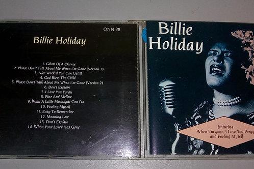 Cd Usado Billie Holiday Billie Holiday ONN38 Importado