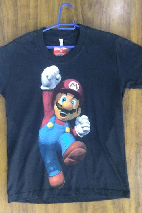 Camiseta Infantil Mario MBP001