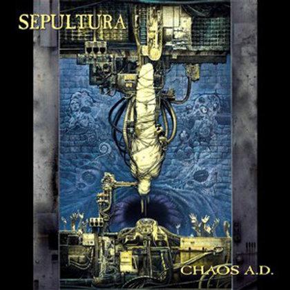 Cd Sepultura Chaos A.D. Com Bonus Importado Argentino