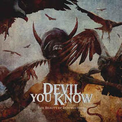 Cd Devil You Know The Beauty Of Destruction