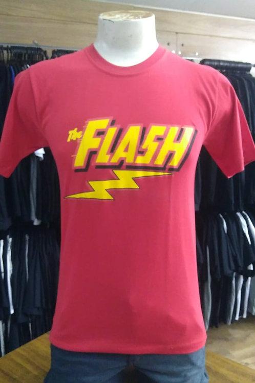 Camiseta The Flash Vermelha SMTF01