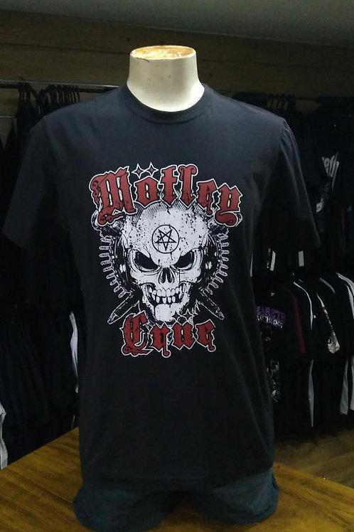 Camiseta Motley Crue Skull Kgb Kgbm01