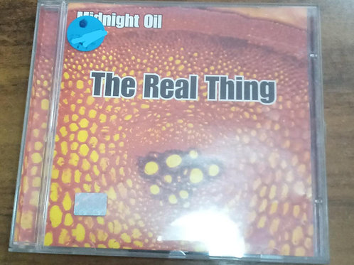 Cd Usado Midnight Oil The Real Thing