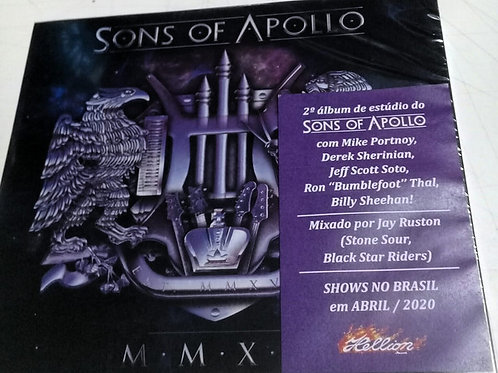 Cd Sons Of Apollo  M.M.X.X. Slipcase