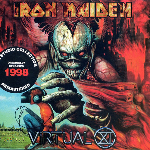 Cd Iron Maiden Virtual XI Digipack