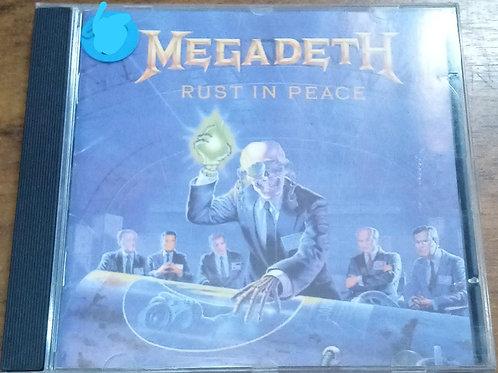 Cd Usado Megadeth Rust In Peace