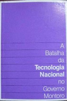 Livro Usado A Batalha da Energia Gov.Montoro Goldemberg 0851