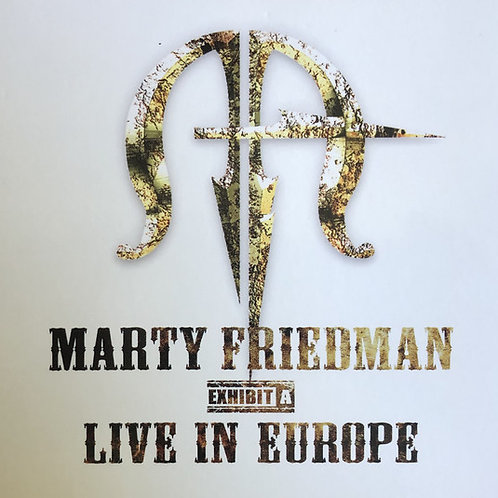 Cd Marty Friedman Live In Europe