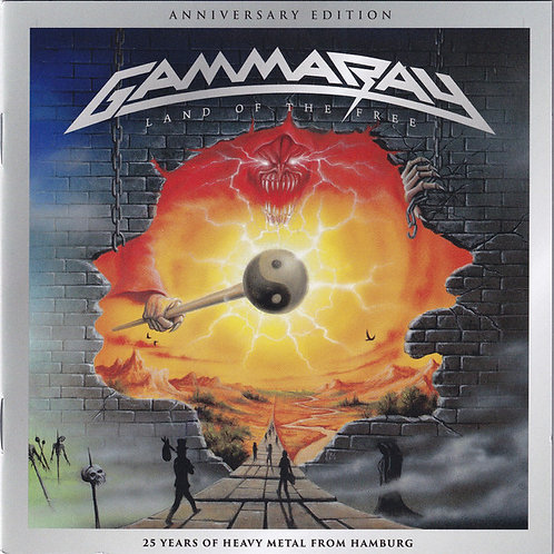 Cd Gamma Ray Land Of The Free 25th Duplo