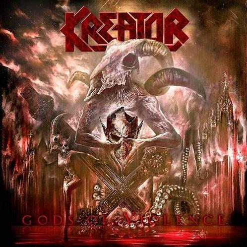 CD DVD Kreator Gods Of Violence Digipack