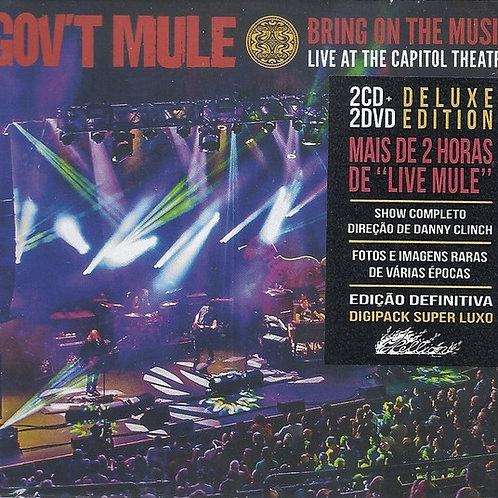 CD DVD Govt Mule Bring On The Music Set