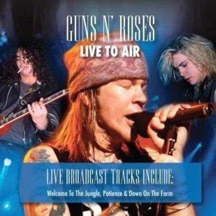 Cd Guns N Roses Live To Air