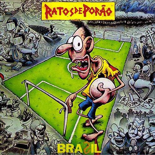 Cd Ratos De Porão Brasil Digipack