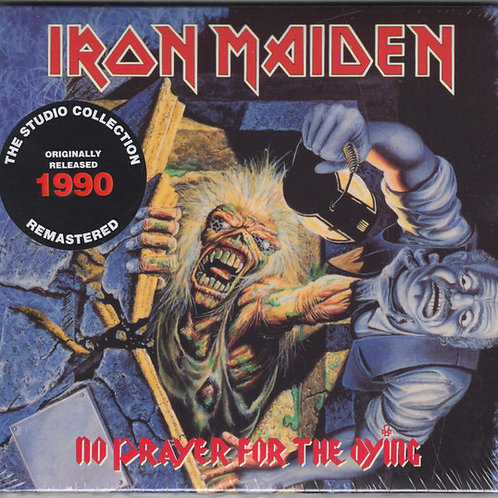 Cd Iron Maiden No Prayer For The Dying Digipack