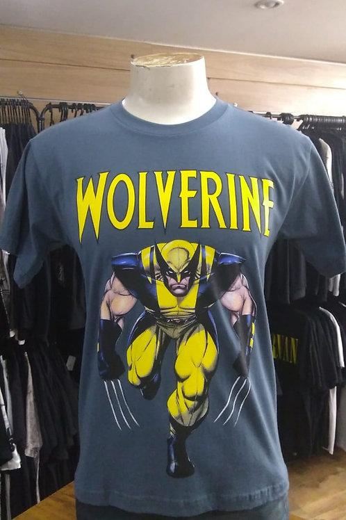 Camiseta Wolverine Cinza Flash C836