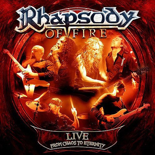 Cd Rhapsody Of Fire Live From Chaos To Eternity