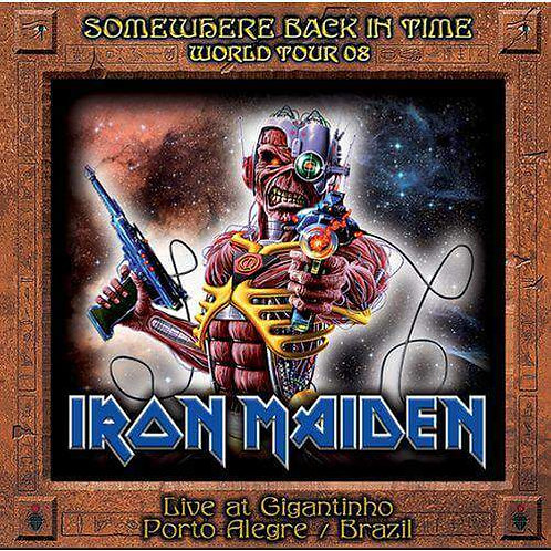 Cd Iron Maiden Somewhere Somewhere Back in Time 08 Duplo Imp