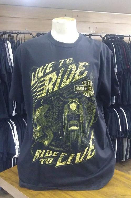 Camiseta Plus Size Harley Davidson JRZ3