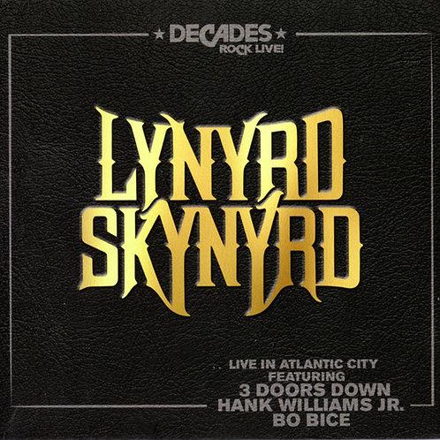 CD DVD Lynyrd Skynyrd Live In Atlantic City