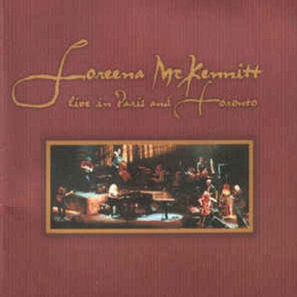 Cd Loreena McKennitt Live In Paris And Toronto Duplo