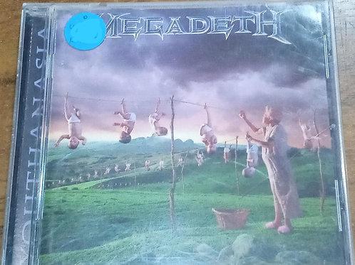 Cd Usado Megadeth Youthanasia