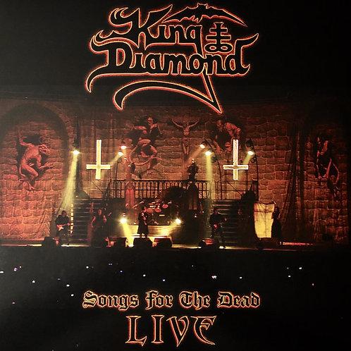 Cd King Diamond Songs for the Dead Triplo