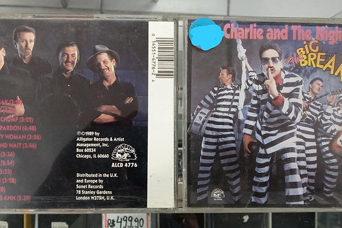Cd Usado Little Charlie And the Nightcats The Big Break