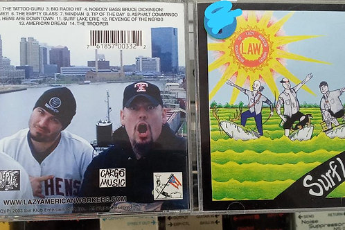 Cd Usado Lazy American Workers Surf Lake Erie