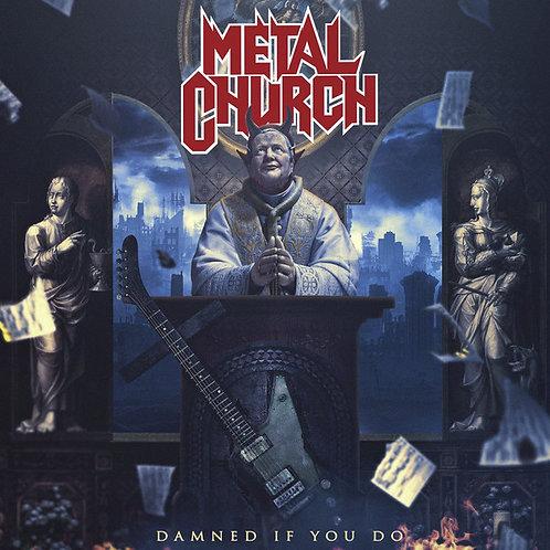 Cd Metal Church Damned If You Do