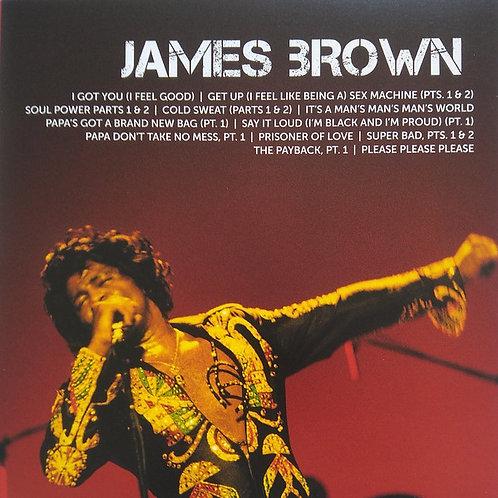 Cd James Brown Icon