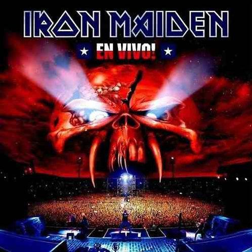 Cd Iron Maiden En Vivo Duplo