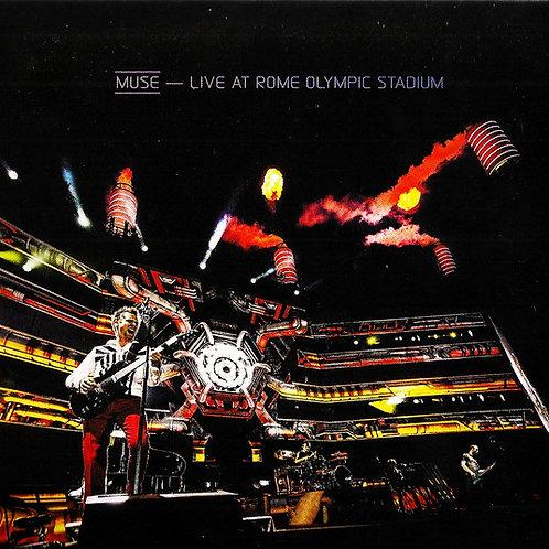 Cd Muse Live At Rome Olympic Stadium Digipack Blue Ray Bônus