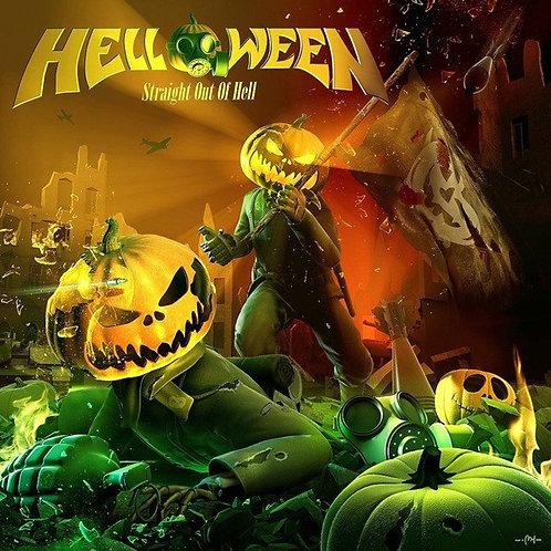 Cd Helloween Straight Out Of Hell Digipack Com Bônus