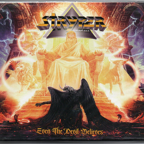 Cd Stryper Even the Devil Believes