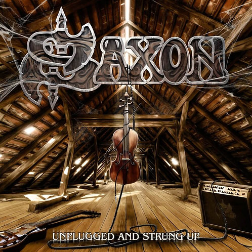 Cd Saxon Unplugged and Strung Up Slipcase