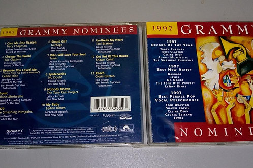 Cd Usado 1997 Grammy Nominees Varios