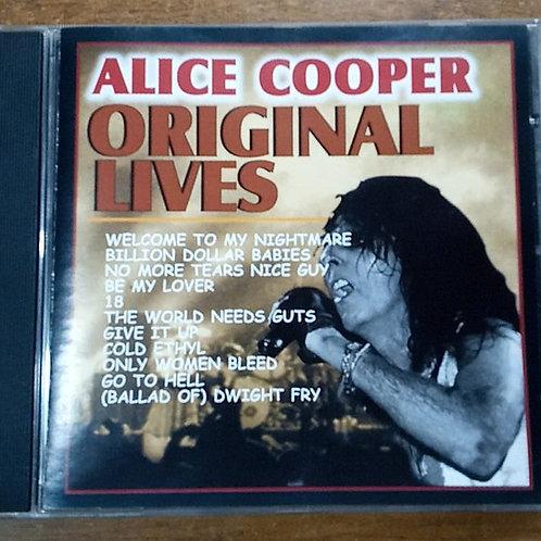 Cd Usado Alice Cooper Original Lives