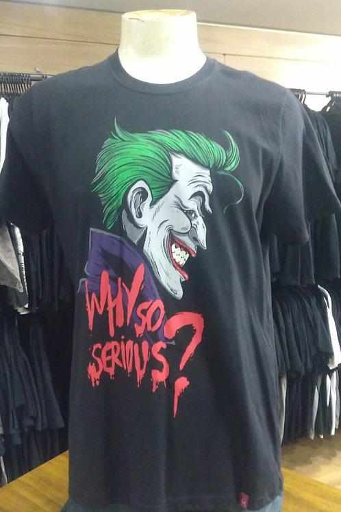 Camiseta Joker Coringa Why So Serious CJ05