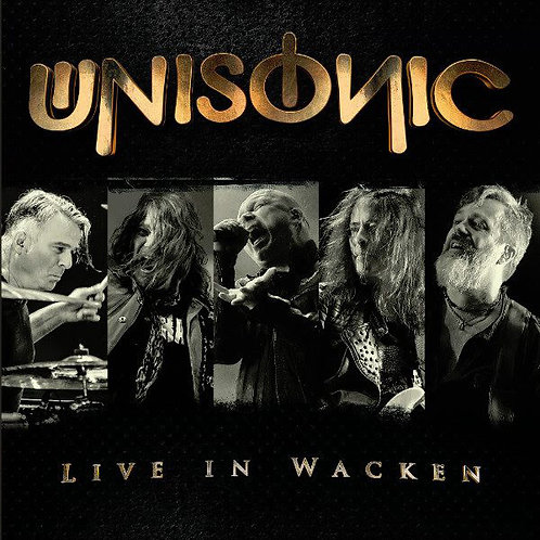 CD DVD Usado Unisonic Live In Wacken